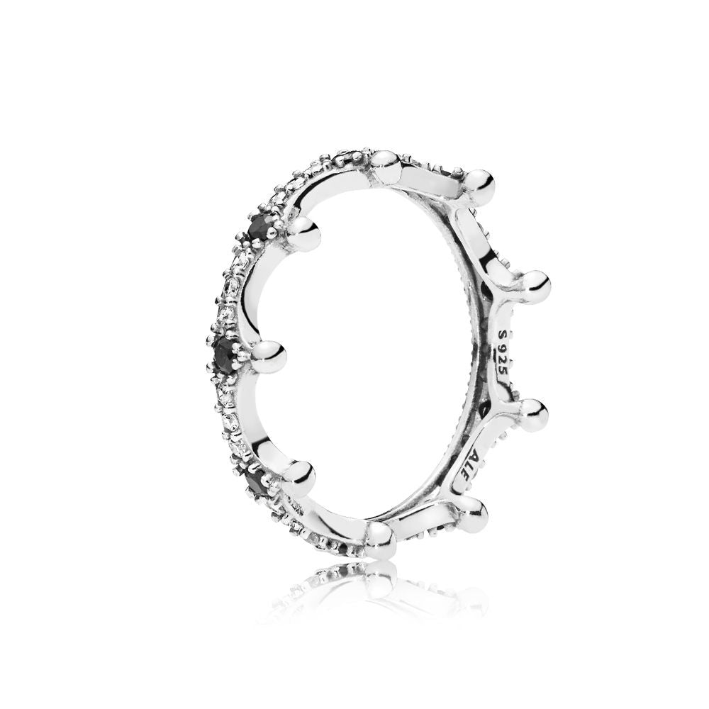PANDORA Enchanted Crown Ring Size 60 -