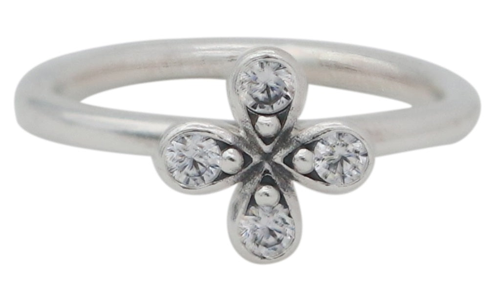 PANDORA Four-Petal Flower Ring - 52