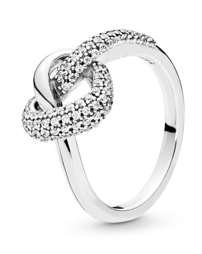PANDORA Knotted Heart Ring