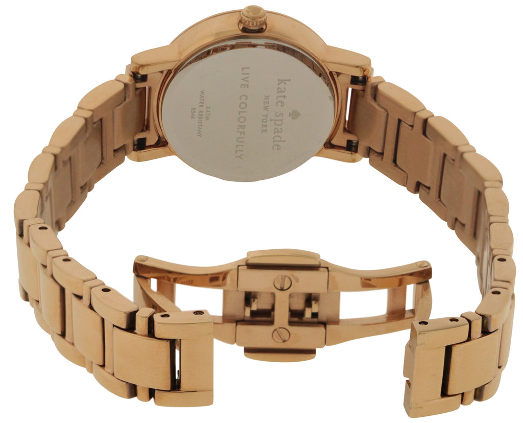 Kate Spade New York Rose Gold-Tone Stainless Steel Ladies Watch