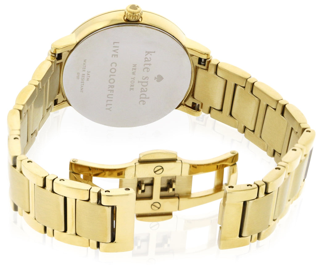 Kate Spade New York Gramercy Dot Gold-Tone Ladies Watch