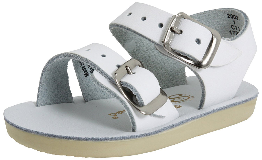 Salt Water Sandals by Hoy Sea Wees - White - 3 Infant