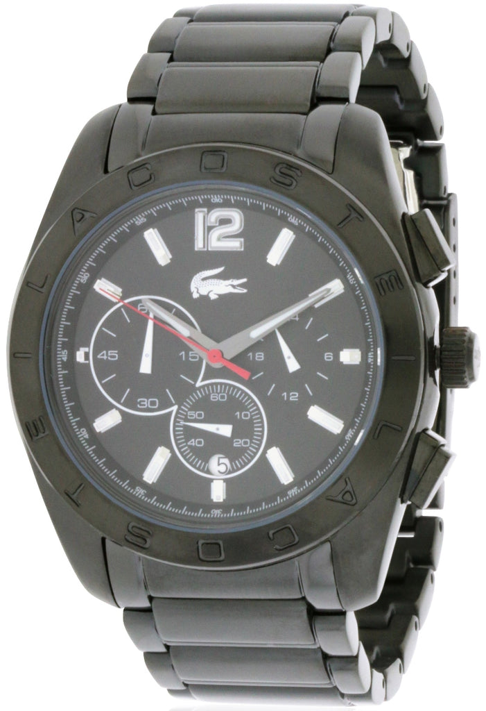 Lacoste Panama Chronograph Black Unisex Watch
