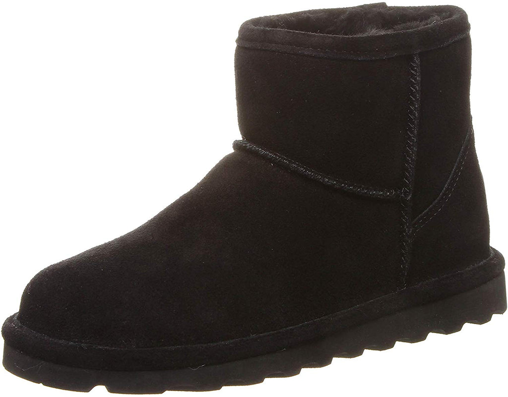 Bearpaw Womens Alyssa Fashion Boot - Black - Size 10