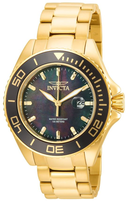 Invicta Pro Diver Gold-Tone Mens Watch