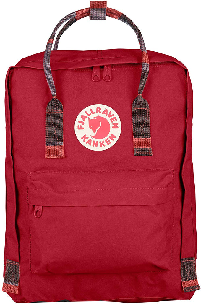 Fjallraven - Kanken Classic Backpack for Everyday - Deep Red/Random Blocked