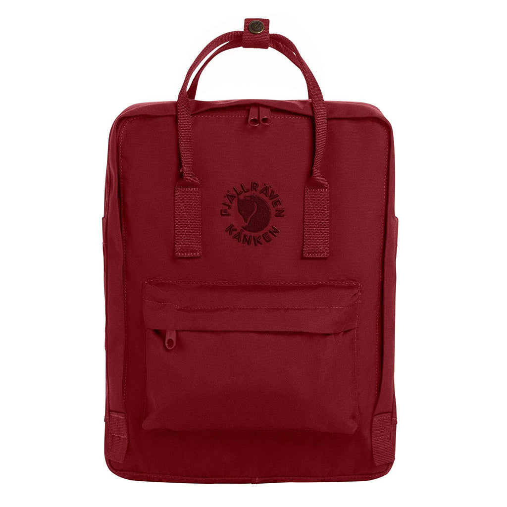 Fjallraven - Re-Kanken Special Edition Recycled Backpack for Everyday - Ox Red