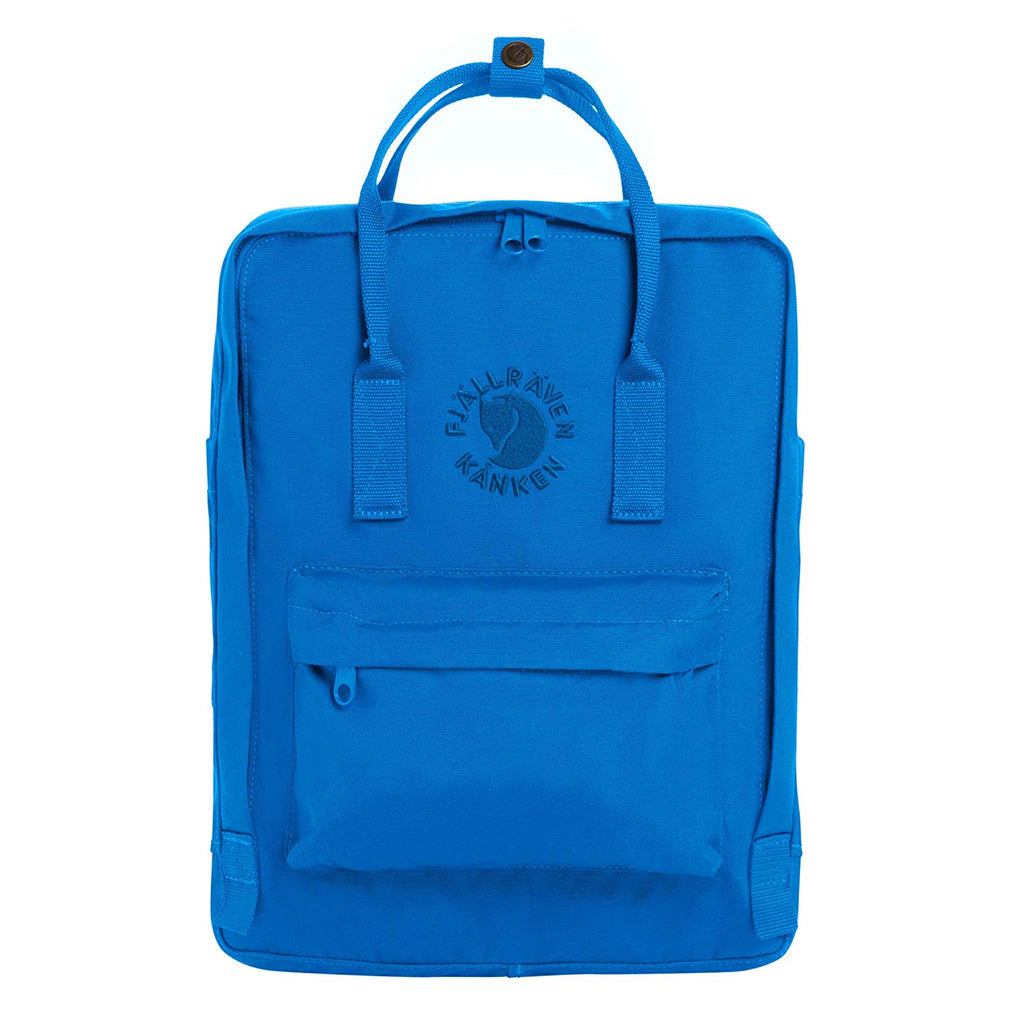 Fjallraven - Re-Kanken Special Edition Recycled Backpack for Everyday - UN Blue