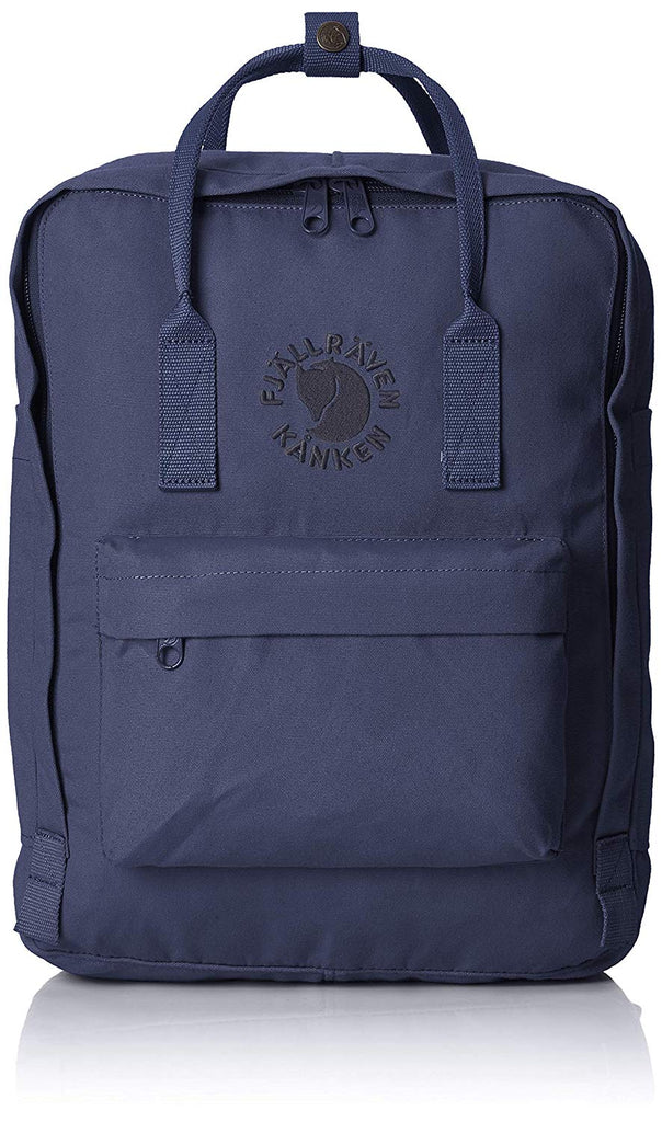 Fjallraven - Re-Kanken Special Edition Recycled Backpack for Everyday - Midnight Blue