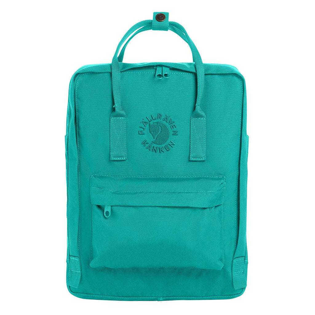 Fjallraven - Re-Kanken Special Edition Recycled Backpack for Everyday - Emerald