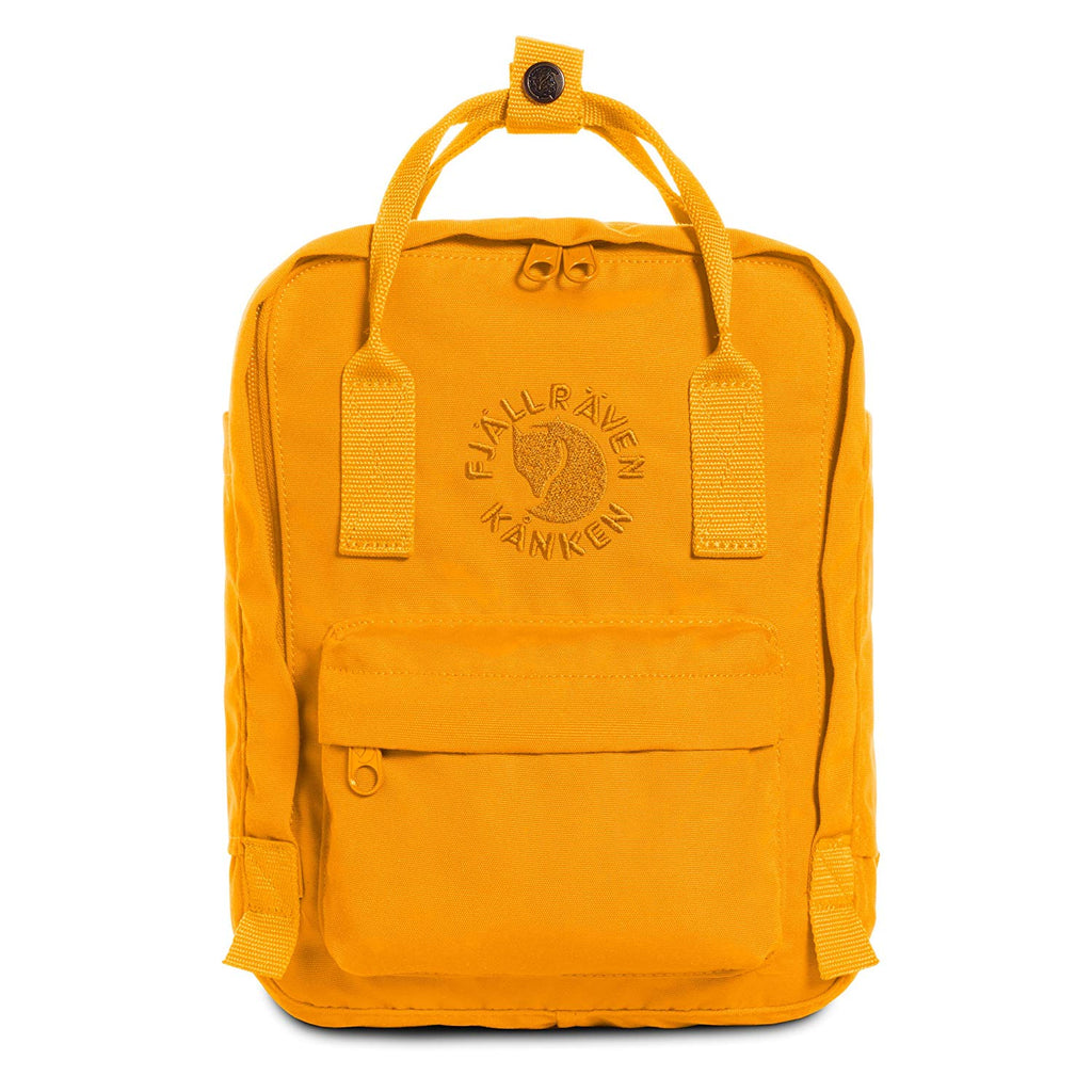 Fjallraven - Re-Kanken Mini Special Edition Recycled Backpack for Everyday - Sunflower Yellow