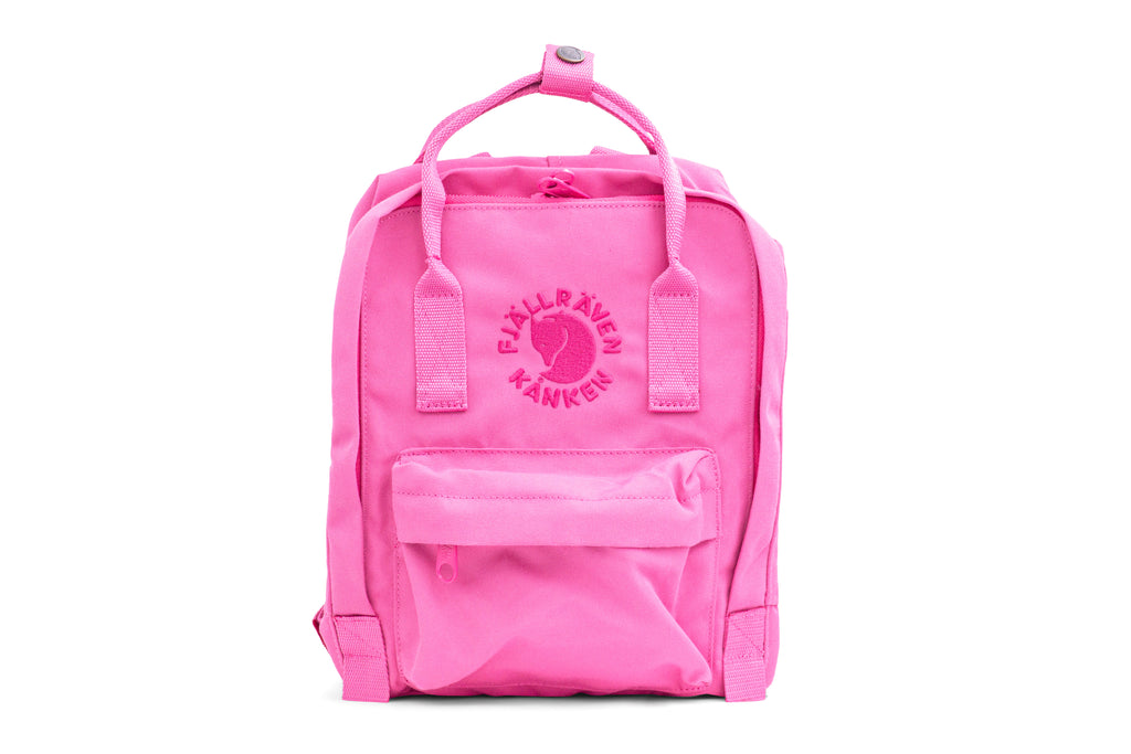 Fjallraven - Re-Kanken Mini Special Edition Recycled Backpack for Everyday - Pink Rose