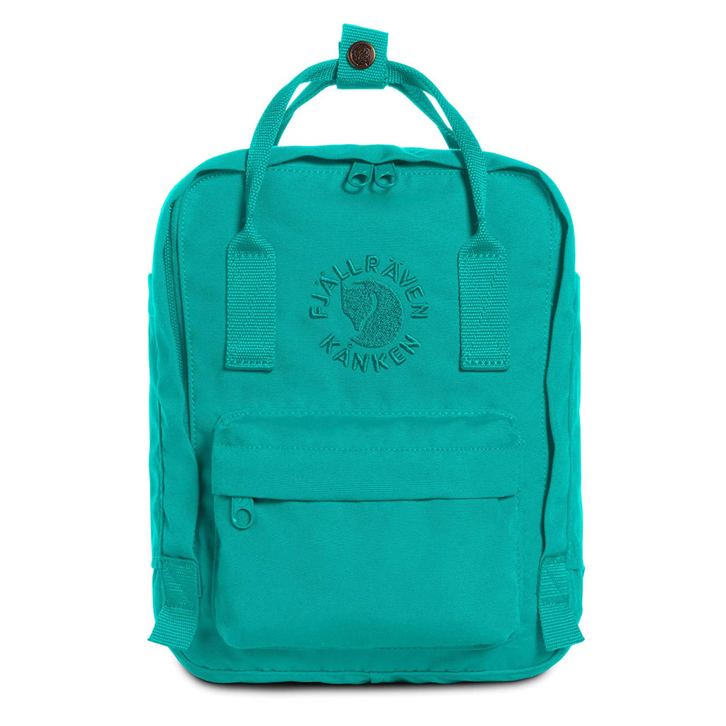Fjallraven - Re-Kanken Mini Special Edition Recycled Backpack for Everyday - Emerald