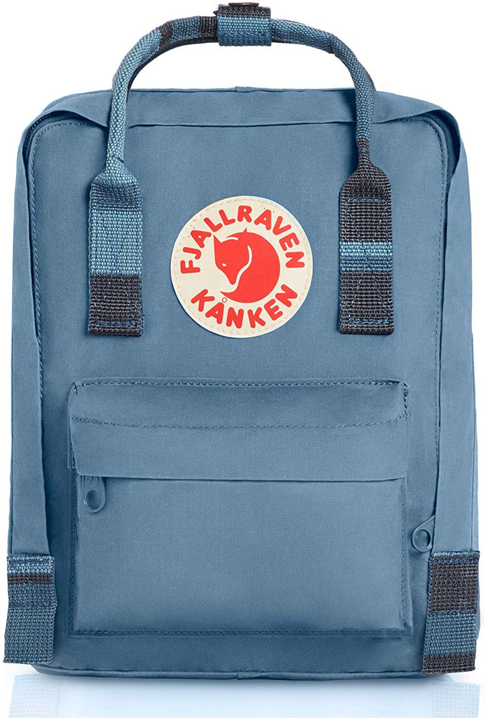 Fjallraven - Kanken Mini Classic Backpack for Everyday - Blue Ridge/Random Blocked