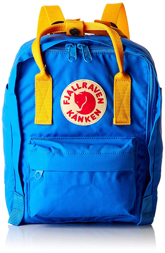 Fjallraven - Kanken Mini Classic Backpack for Everyday - Un Blue/Warm Yellow