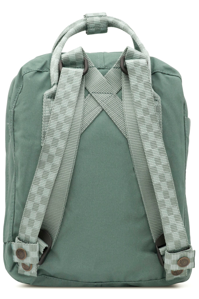 Fjallraven - Kanken Mini Classic Backpack for Everyday - Frost Green/Chess Pattern