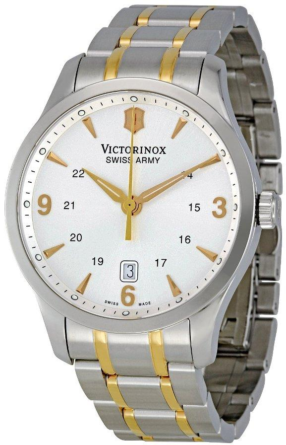 Swiss Army Victorinox Alliance Two-Tone Mens Watch