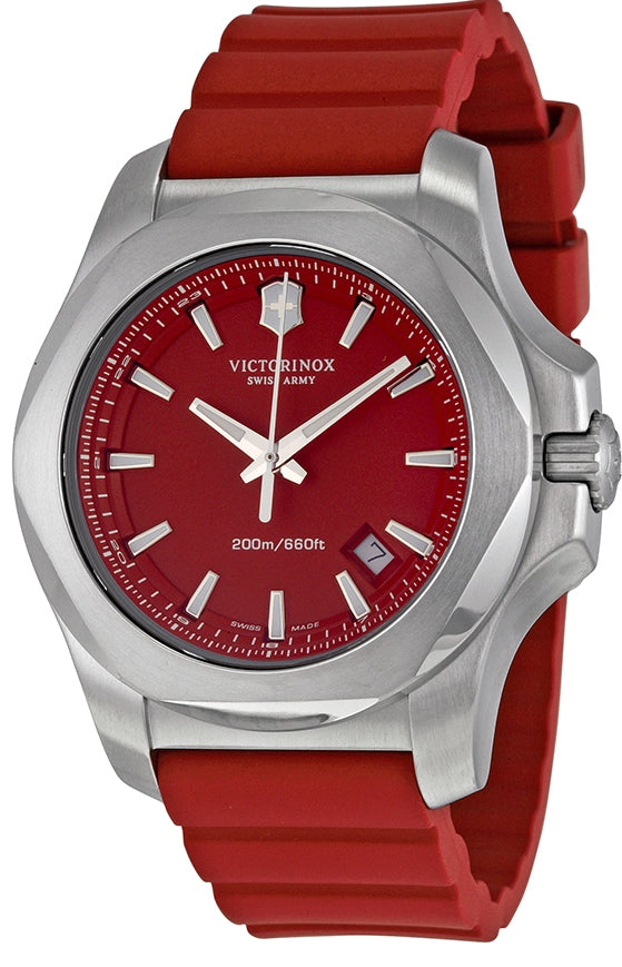 Swiss Army Victorinox I.N.O.X Rubber Mens Watch