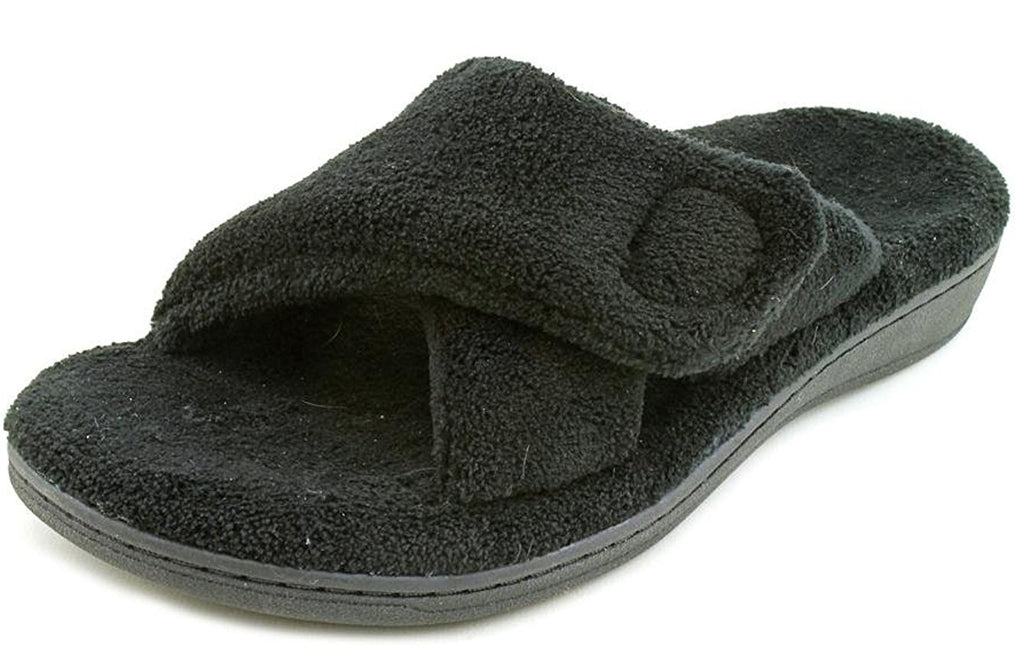 Vionic Orthaheel Relax Slipper - Black - Size 7 B(M) US