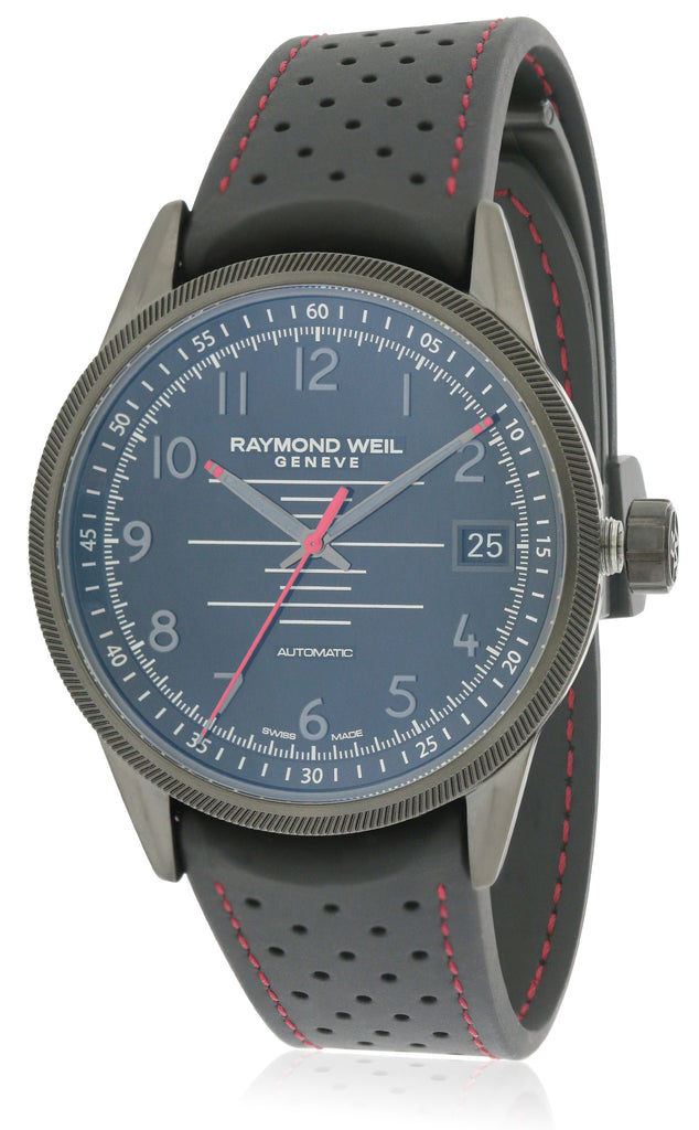 Raymond Weil Freelancer Rubber Automatic Mens Watch