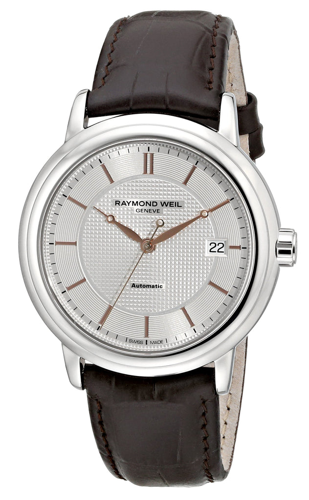 Raymond Weil Maestro Leather Mens Watch