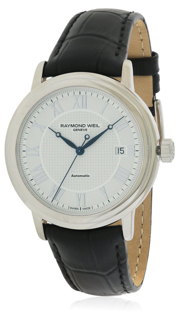 Raymond Weil Tradition   Automatic Leather Mens Watch