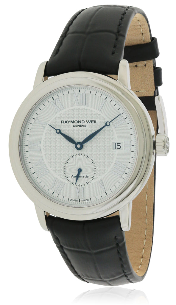 Raymond Weil Maestro Automatic Leather Mens Watch