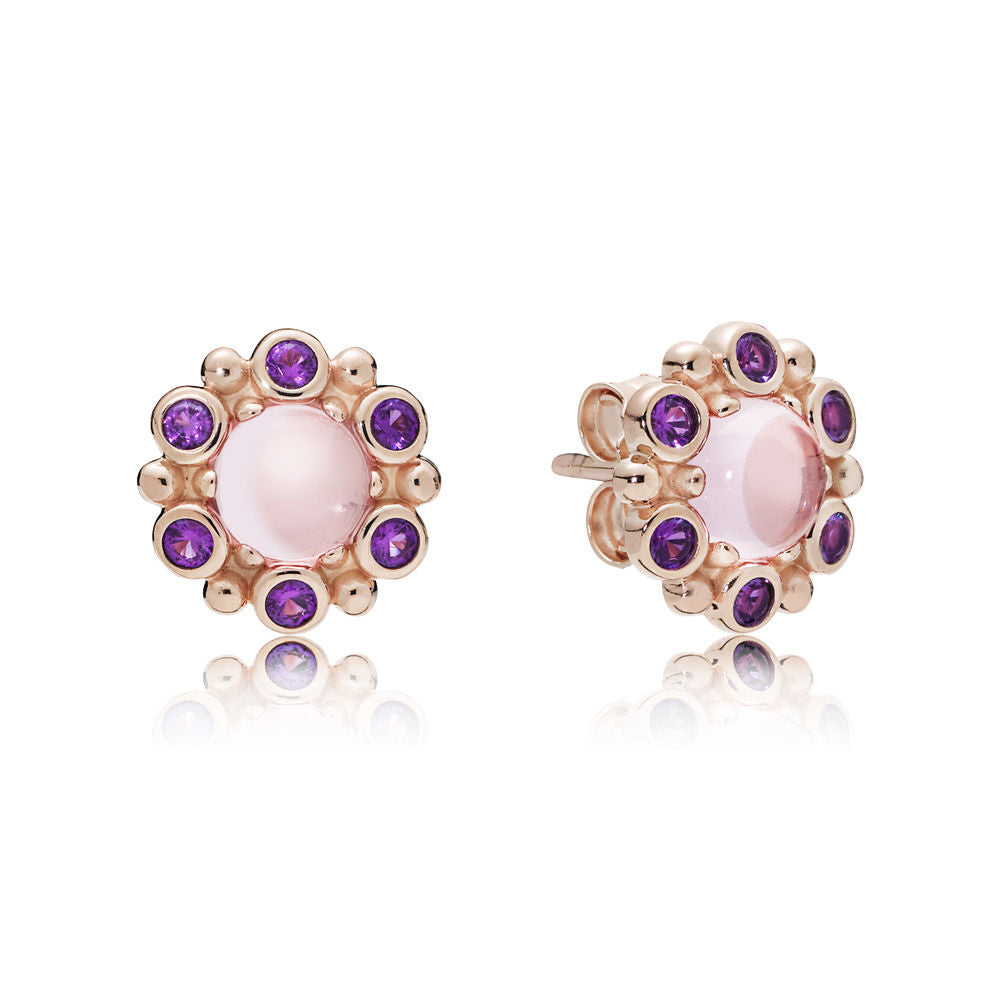 PANDORA Heraldic Radiance Earrings -