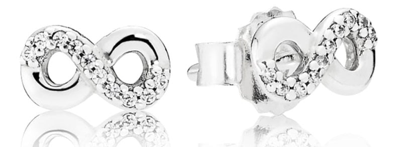 Pandora Infinite Love Stud Earrings -