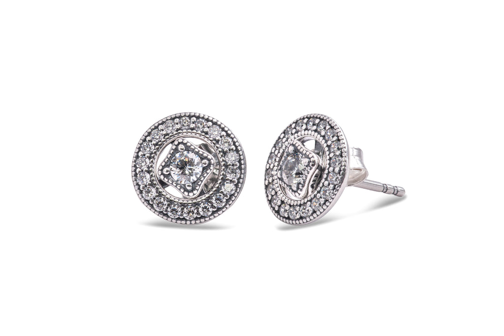 Pandora Vintage Allure Stud Earrings -