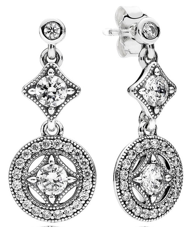PANDORA Vintage Allure Drop Earrings -