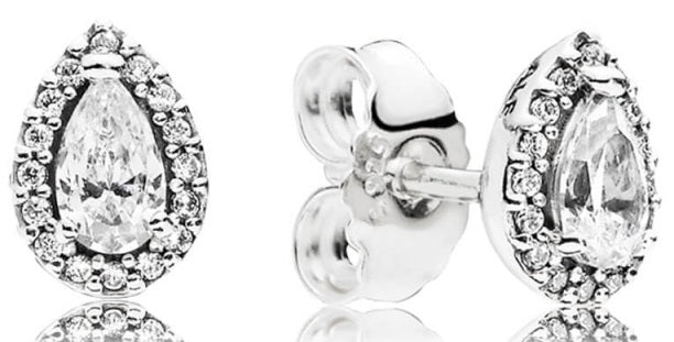 PANDORA Radiant Teardrops Stud Earrings -
