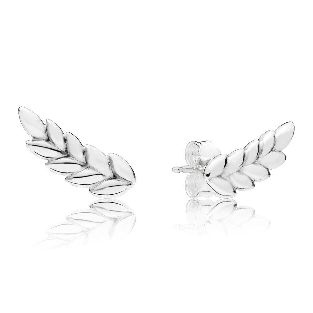 PANDORA Curved Grains Earrings -