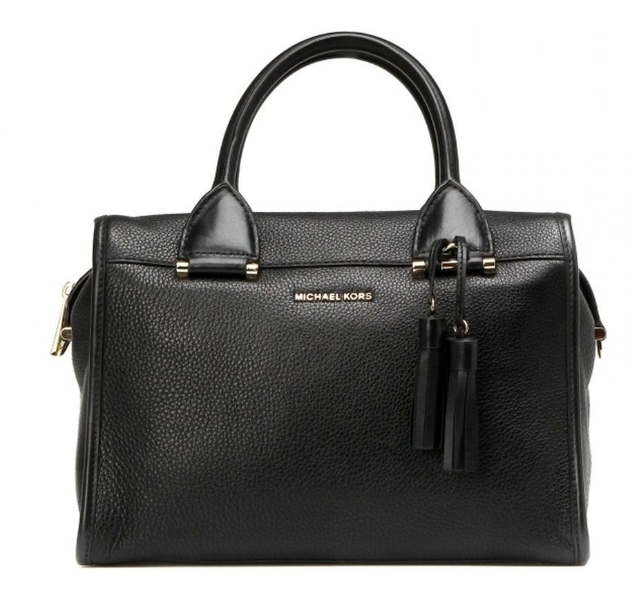 Michael Kors Geneva Large Satchel - Black -