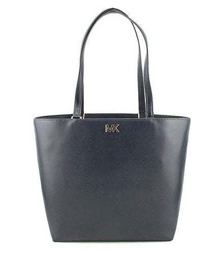 Michael Kors Mott Leather Tote - ADMIRAL -