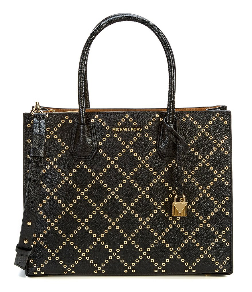 Michael Kors Mercer Tote Bag - Black -