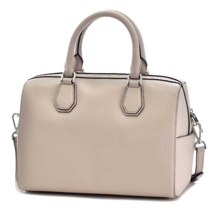 Michael Kors Mercer Medium Leather Duffel - Cement -