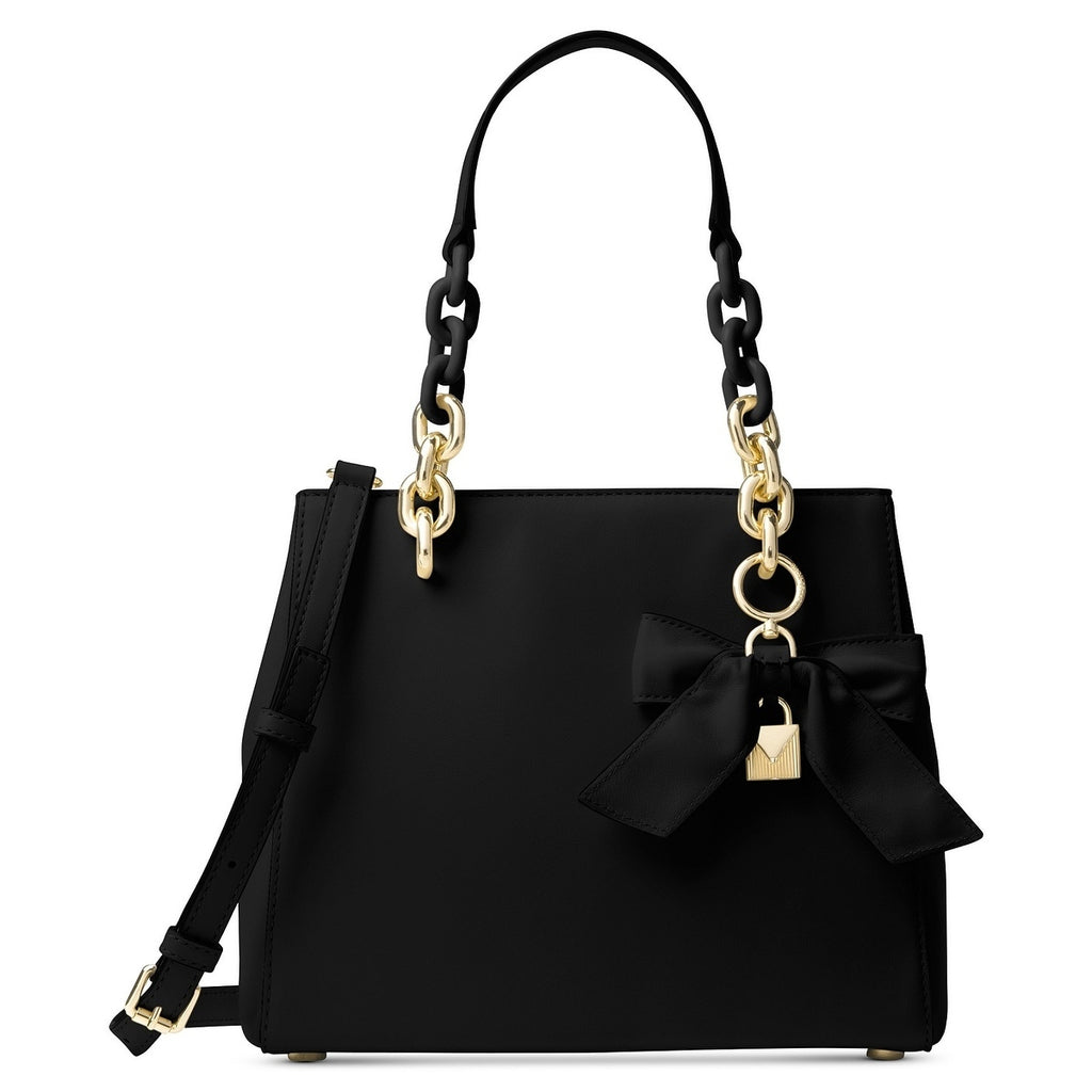 Michael Kors Cynthia Small Convertible Satchel - Black