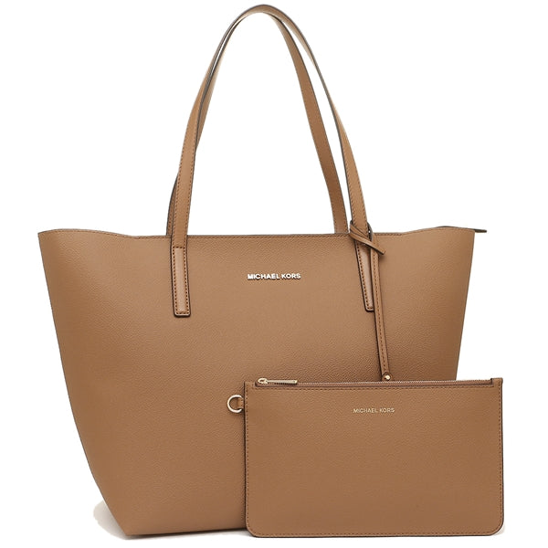 Michael Kors Hayley Large Coated Canvas Tote - Acorn -