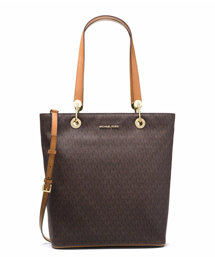 Michael Kors Raven Large North South Tote - Brown -