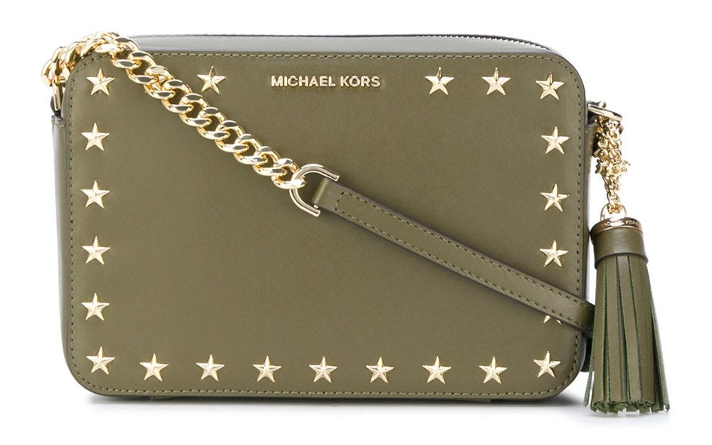 Michael Kors Ginny Media Bag - OLIVE -