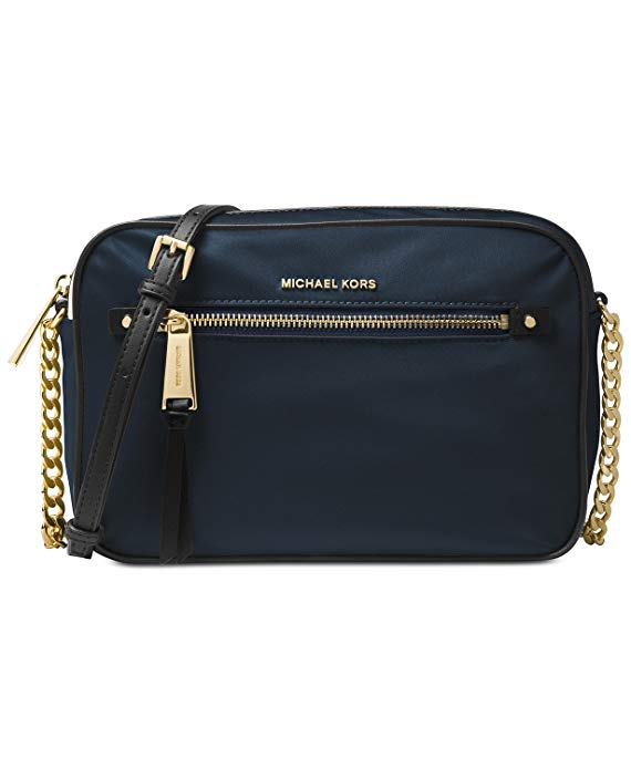 Michael Kors Polly Large Nylon Crossbody - ADMIRAL