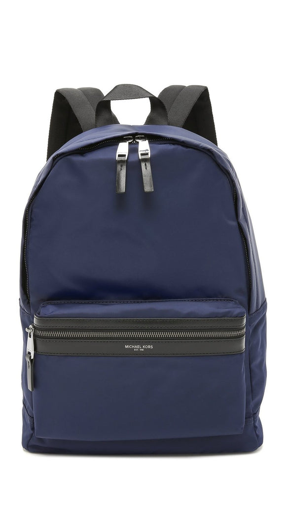 Michael Kors Mens Kent Nylon Backpack - Indigo -
