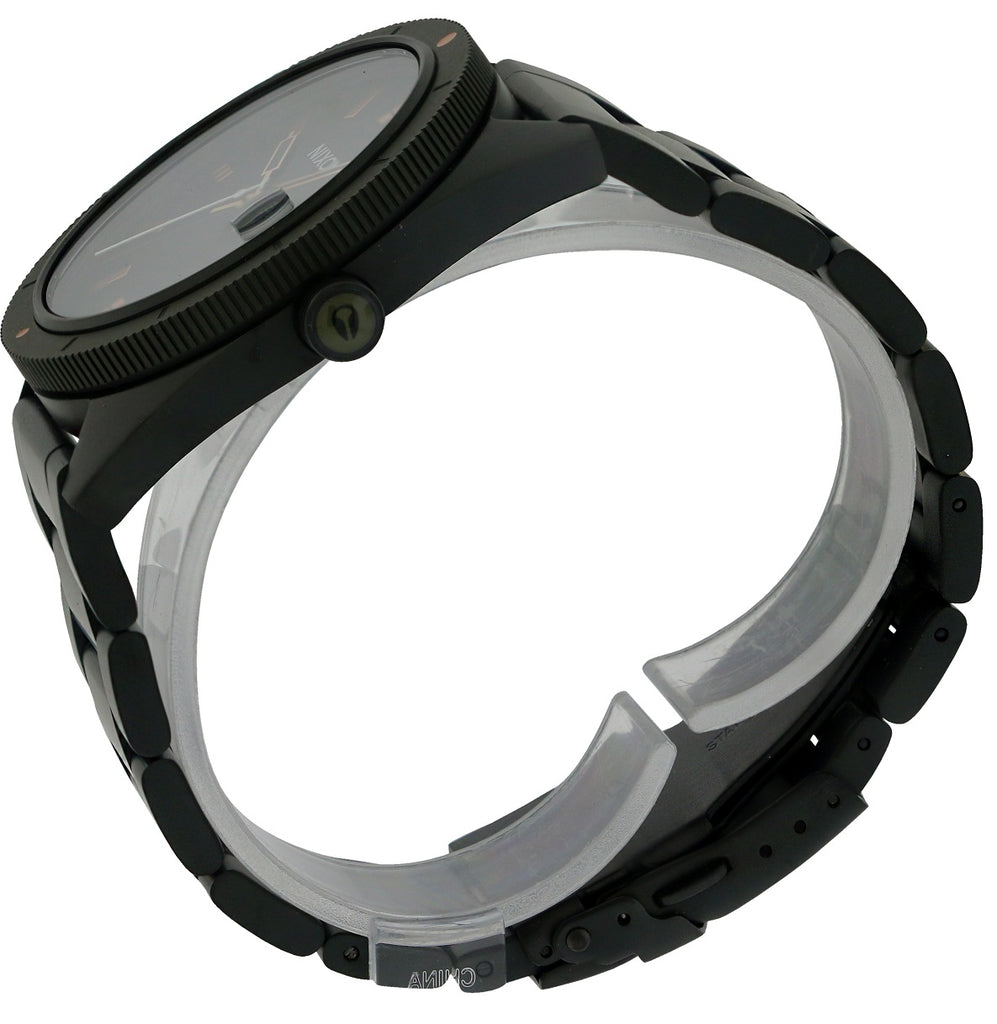Nixon Rover Black Stainless Steel Mens Watch