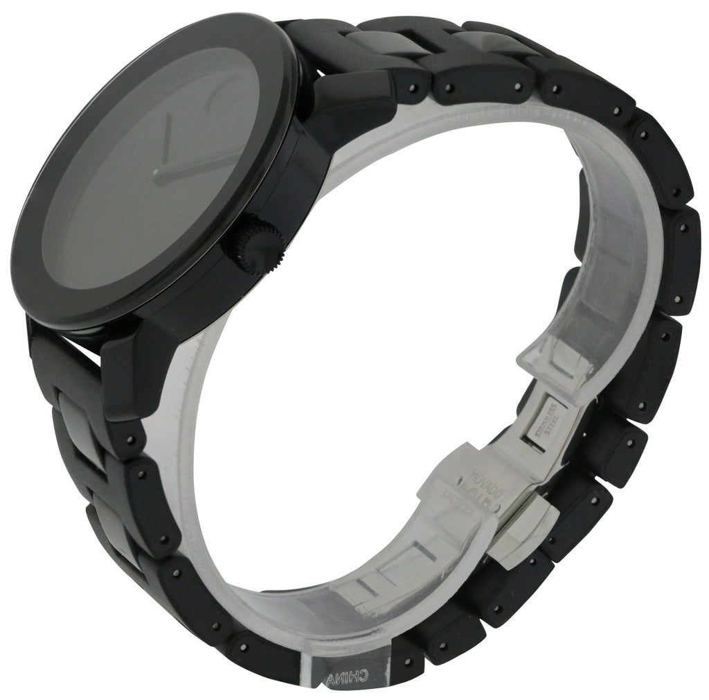 Movado Bold Large Black Polymer Mens Watch