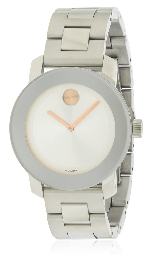 Movado Bold Medium Stainless Steel Watch