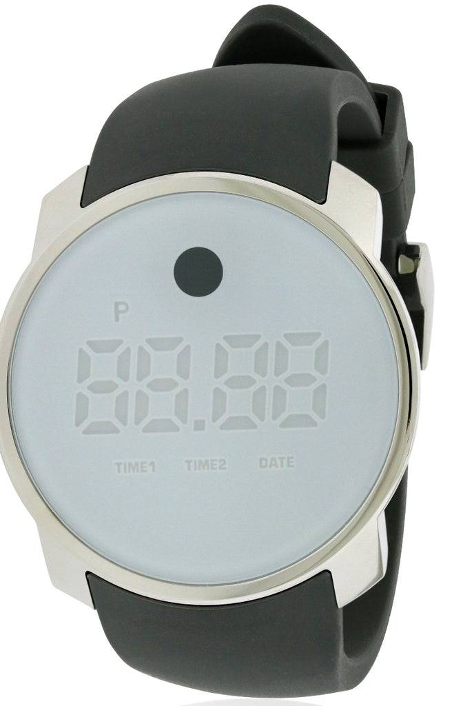 Movado BOLD Touch Dual-Time Digital Unisex Watch