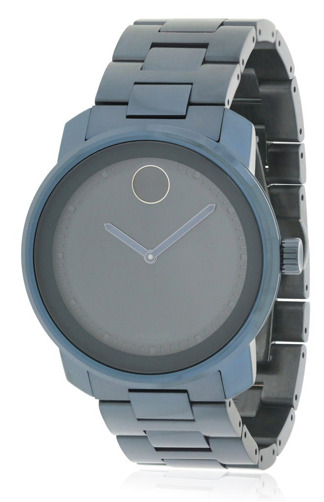 Movado Bold Blue PVD Unisex Watch