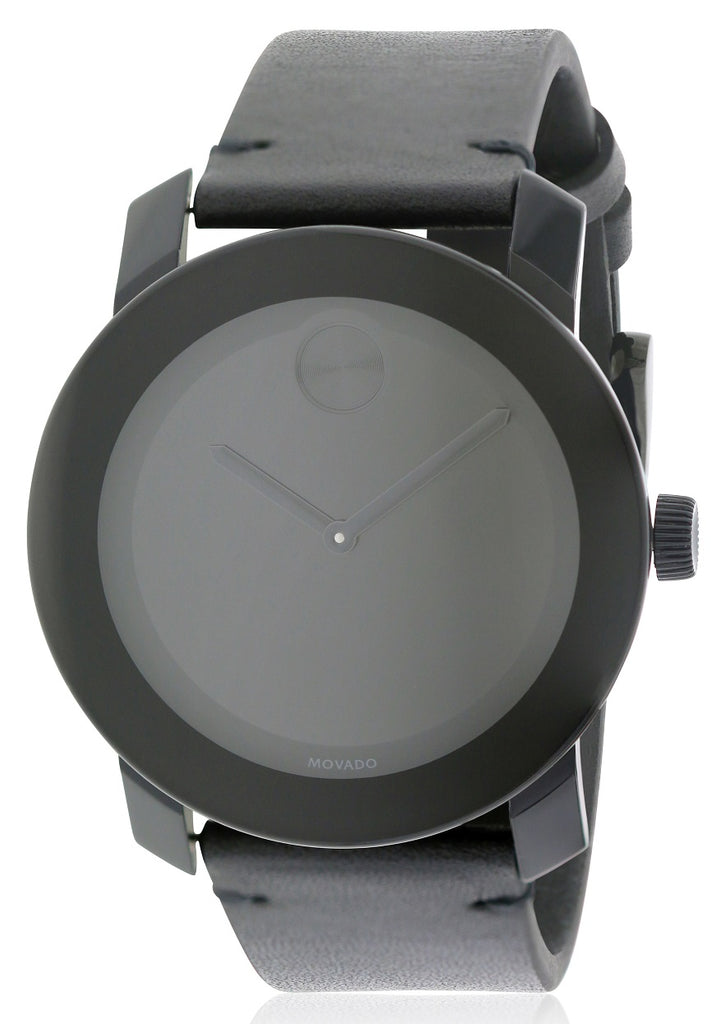 Movado Bold Leather Unisex Watch