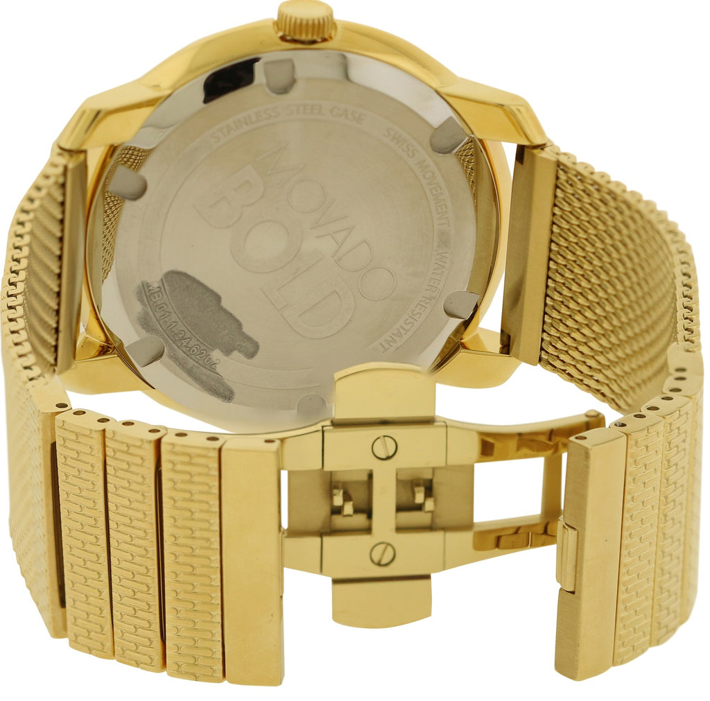 Movado Bold Gold-tone Mens Watch